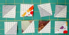 Fabrics N Quilts: Was playing around with my HST's and this happened