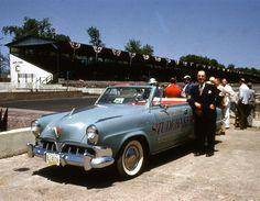 STRANGE OLDE INDY 500 PACE CARS - 1952 STUDEBAKER COMMANDER CONVERTIBLE