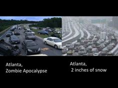 "Atlanta Is Basically An Episode Of ""The Walking Dead"" Right Now"