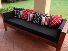 My Outdoor Sofa | Do It Yourself Home Projects from Ana White