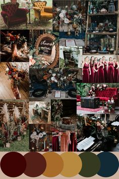 Emerald Wedding Colors, Orange Wedding Colors, Jewel Tone Wedding, Fall Wedding Colors, December Wedding Colors, Velvet Wedding Colors, Fall Wedding Themes, Fall Wedding Inspiration, Wedding Ideas