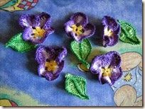 How To Crochet Pansies