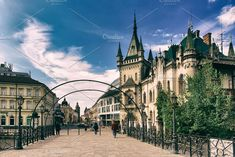 View of Jakabov Palace Photos View of Jakabov Palace in the old town in Kosice, Slovakia by Nature and travel 3d Design, Old Town, Palace, Old Things, Louvre, Nature, Travelling, Photos, Food