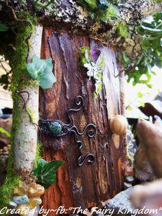 Rustic Fairy Door