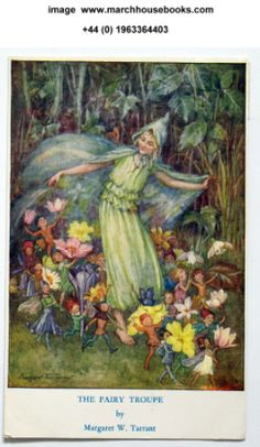 The fairy troupe postcard Margaret Tarrant