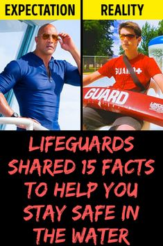 Lifeguards Shared 15 Facts to Help You Stay Safe in the Water Most Popular, Popular Pins, Expectation Reality, Lifeguard, New Pins, Stay Safe, Pin Collection, All In One, Facts