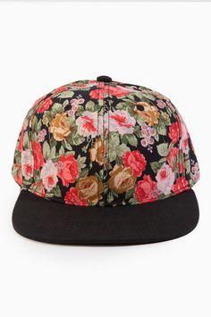 Floral Fiend Snapback Cap