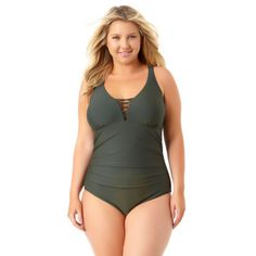 84444ed8739 Buy Allure By Img One Piece Swimsuit Juniors Plus at JCPenney.com today and  Get