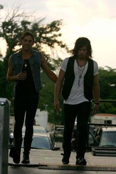Caleb and Matthew followill