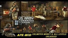 US Army Commando Survival FPS Shooter MOD APK Download