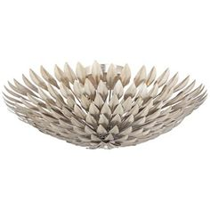 "Crystorama Broche 23 3/4"" Wide Silver Ceiling Light"