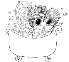 Digital Stamps Freebies | This is one of Sherri Baldy's NEW BESTIES Digi Stamps as a gift from ...
