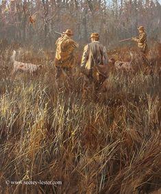 LAST SHOOT OF THE DAY Not Just Wildlife Art of John & Suzie Seerey-Lester