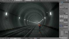 BLENDER TUTORIALS: 'Create an Underground Subway Scene' in Blender .  [Part 1 of 2]   [.'183' +Playlist.]