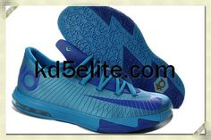 best service c5c72 10b66 Nikes Dynamic Blue KD 6 Womens Current Blue 599424 810 Kevin Durant  Basketball Shoes, Kevin