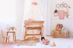 Alimrose Tulle Cloud Mobile - Blush & Gold – Faith Laine Cloud Mobile, Blush And Gold, Playroom Decor, Girl Nursery, Bassinet, Boy Or Girl, Kids Room, Toddler Bed, Tulle