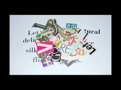 Typography stop motion animation