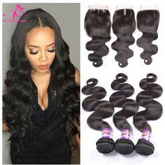 BY Hair Peruvian Body Wave 3 Bundles With Closure Remy Human Hair Bundles With Closure Peruvian Hair Bundles With Closure Body Balayage Straight Hair, Balayage Hair Caramel, Mink Brazilian Hair, Brazilian Hair Weave, Weave Hairstyles, Straight Hairstyles, Body Wave Hair, Stylish Hair, Human Hair Extensions