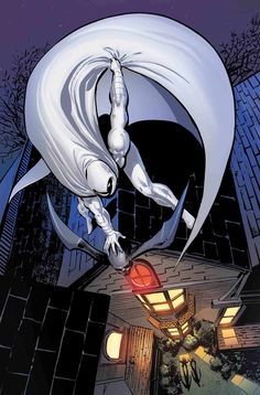 Moon Knight Remastered Variant Cover by Bill Sienkiewicz Marvel Fan, Marvel Heroes, Marvel Characters, Cartoon Characters, Comic Book Heroes, Comic Books Art, Comic Art, Book Art, Spiderman