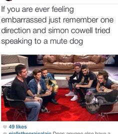 I will remember this........Thank you One Direction and Simon Cowell....Thank you