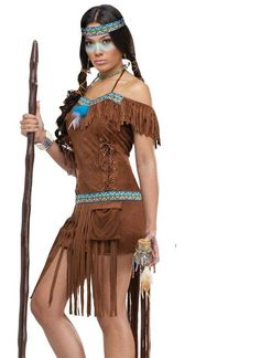 womens medicine woman indian costume - Halloween Native American Costumes
