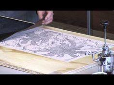 Набойка через трафарет - Ярмарка Мастеров - ручная работа, handmade