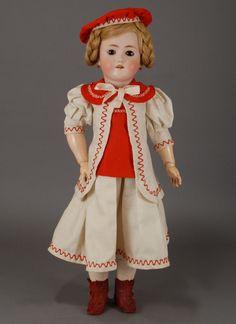 Heinrich Handwerck — Bisque Child Doll  (745×1024)