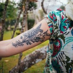 This lovely bunch of blooms. | 22 Impossibly Beautiful Floral Tattoos
