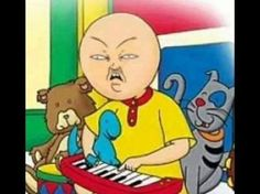 Literally A Bunch Of Fucked Up Memes About Caillou (That Are Great) - funny stuff 9gag Funny, Hilarious, Fun Funny, Memes Humor, Funny Memes, Funny Quotes, Life Quotes, Caillou, Stupid Memes