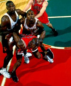Shawn Kemp, Gary Payton & Michael Jordan