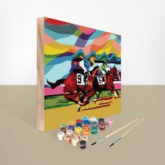 Kentucky Derby Kit: Thrill of the Race - Easy 123 Art