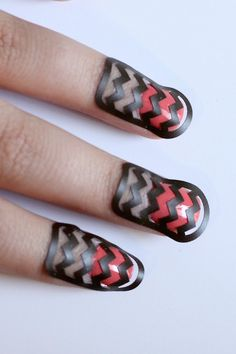 DIY Nail Art with Silhouette