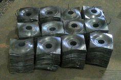 Proceso de fabricación con prensa excentrica de 150 toneladas