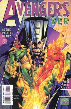 """""""The Secret History of the Avengers"""" ___ script by Roger Stern (plot) and Kurt Busiek (plot & script), Art And Cover Carlos Pacheco , This Issue Is In Very Fine / Near Mint Condition , The Story ...Th"""