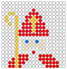 #knutselen met kinderen tijdens #sinterklaas #DIY ~Patroon voor op de kralenplank~ Cross Stitch Embroidery, Cross Stitch Patterns, Kids Crafts, Diy And Crafts, St Nicholas Day, Faith Crafts, Santa Cross Stitch, Saint Nicolas, Iron Beads
