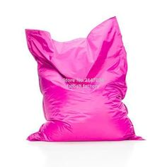 PINK Color outdoor bean bag chair - home furniture - beanbag sofa beds