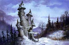 Winter Castle by Larry MacDougall