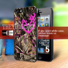 LOVE Browning Deer Camo Iphone 5 Case