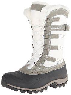 Kamik Women's Snowvalley Boot,White,9 M US Kamik http://www.amazon.com/dp/B00HSYDFRG/ref=cm_sw_r_pi_dp_bxm3ub1AVBMRE