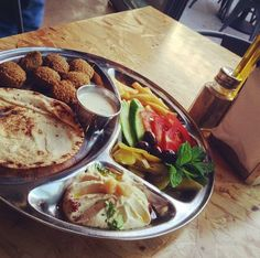 The famous Falafel platter