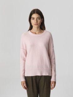 Rosa mohairmix genser By Malene Birger - Malene Birger, Knitwear, Tunic Tops, Pullover, Knitting, Sweaters, Knits, Winter, Women