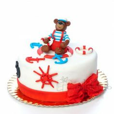 Ursuletul Marinar navigand un tort-vapor :) Food And Drink, Cake, Desserts, Tailgate Desserts, Deserts, Kuchen, Postres, Dessert, Torte