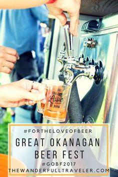 You could win 2 tickets to the Great Okanagan Beer Festival by entering at the bottom of the blog post #ForTheLoveofBeer #GOBF2017