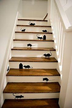 Hokus Pokus Home: Malowane schody - super sposób na efekt WOW we wnętrzu!