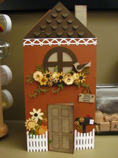 House Warming Card (using Wild Card, Picturesque, Forever Young, Serenade, and Home Accents) - Caroline