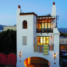 More whimsical Spanish style details in Santa Barbara homes.