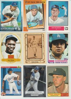 HUGE 800 Different DODGERS cards lot Vintage 1961 - 2016 Kershaw HOFs and RCs  #LosAngelesDodgers