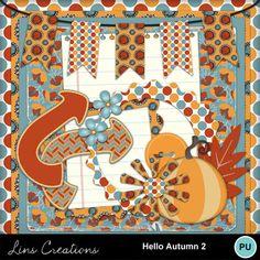 Digital Scrapbooking Kits | Hello Autumn 2-(LinsCre) | Decorative, Family, Memories, Nature, Seasons - Autumn | MyMemories