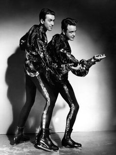 Jimmy Stewart, Lew Ayres, THE ICE FOLLIES OF 1939