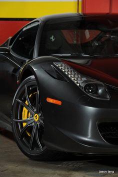 Ferrari 458 Italia. I think this is my most favorite Ferrari ever!